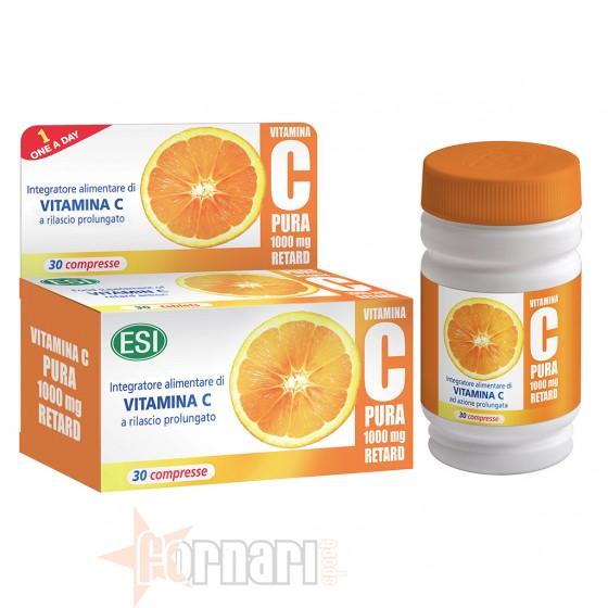 Esi Vitamina C Pura Retard 30 cpr