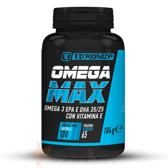Eurosup Omega Max 130 Softgels