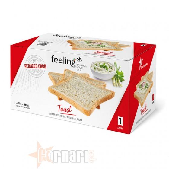 Feeling Ok Start Toast 160 gr