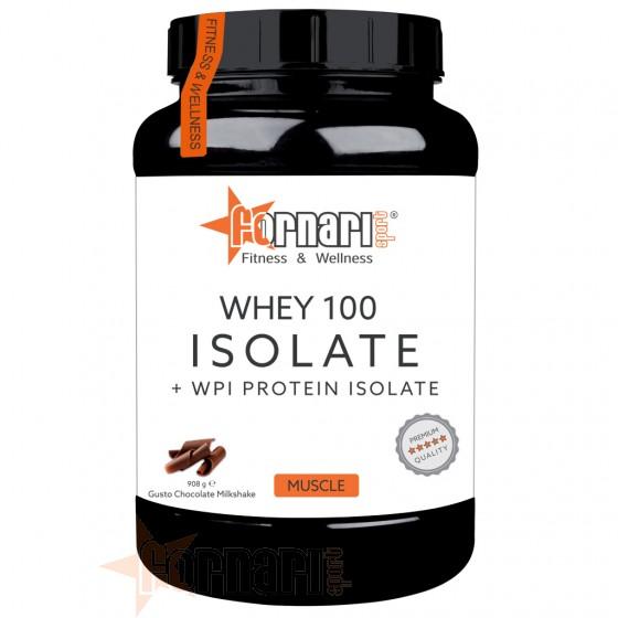 Fornari Sport Whey 100 Isolate + WPI Protein Isolate Proteine Isolate e Idrolizzate