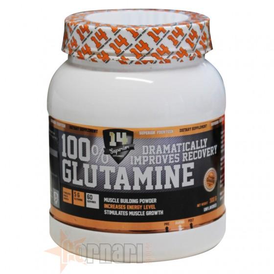 100% L-GLUTAMINE 300 GR