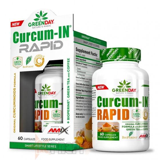 Greenday Curcum-In Rapid 60 cps