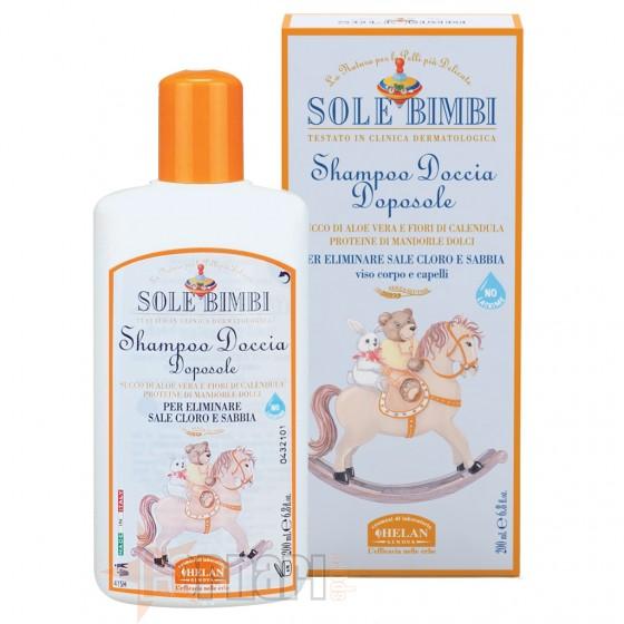 Helan Bimbi Shampoo Doccia Doposole 200 ml