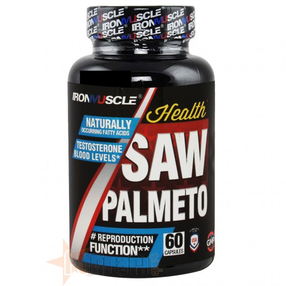 Iron Muscle Saw Palmetto 60 cps