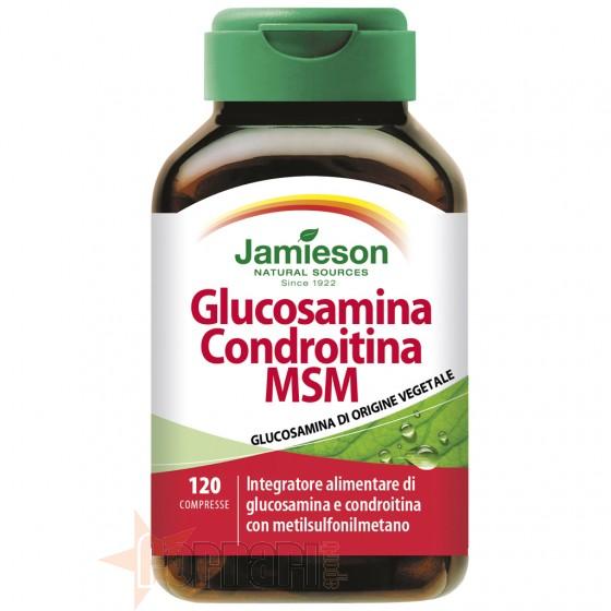Jamieson Glucosamina Condroitina Msm 120 cpr