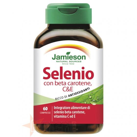 Jamieson Selenio con Beta-Carotene, C & E 60 cpr