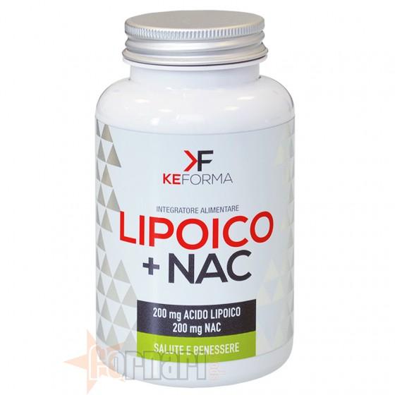 Keforma Lipoico+Nac Antiossidanti