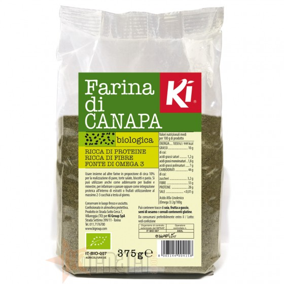 Ki Group Ki Farina di Grano Saraceno Integrale Biologica Farine Alimentari