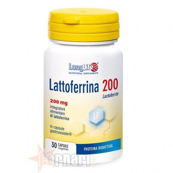 Long Life Lattoferrina 200 30 cps