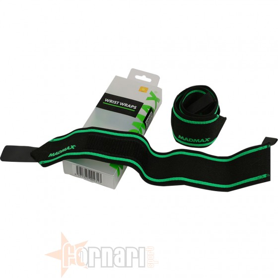 Mad Max Elastic Wrist Wraps Bandage Accessori per il Fitness