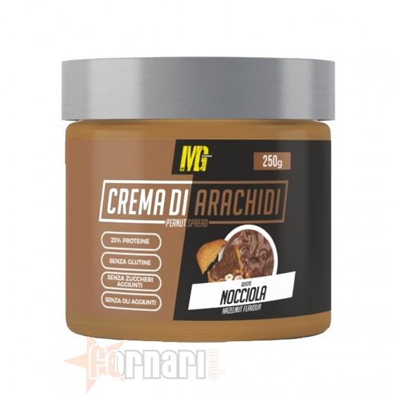 Mg Food Crema di Arachidi Nocciola 250 gr