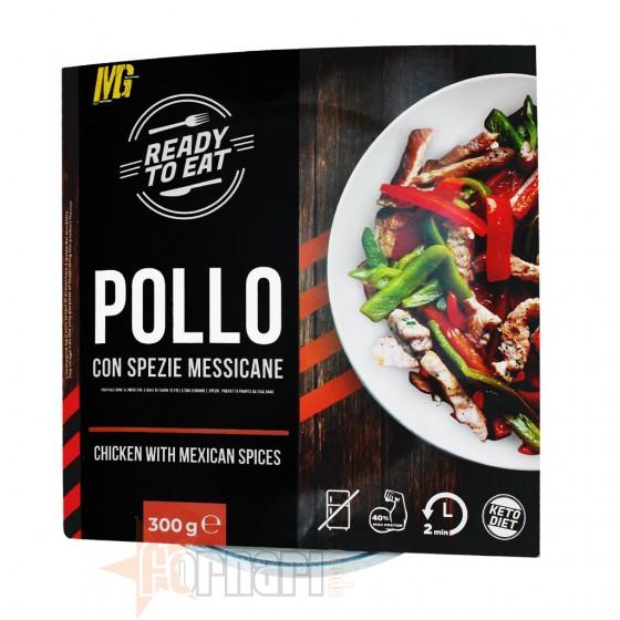 Mg Food Ready to Eat Pollo con Spezie Messicane 300 gr