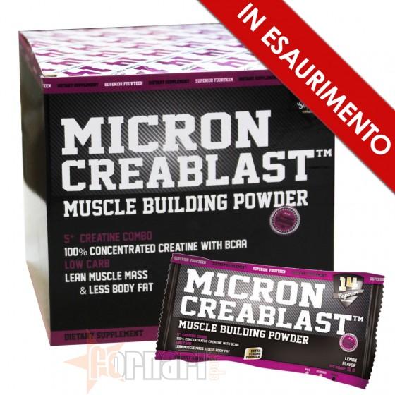 Superior14 Micron Creablast Creatina con Trasporto