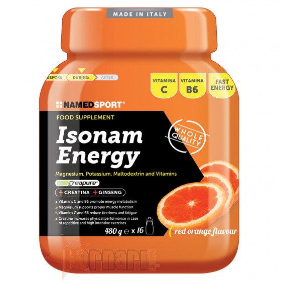 Named Sport Isonam Energy 480 gr