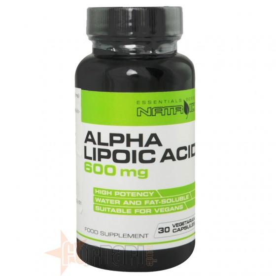 Natroid Alpha Lipoic Acid 600mg 30 cps