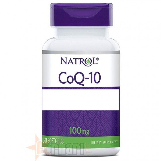 Natrol CoQ-10 60 Softgels