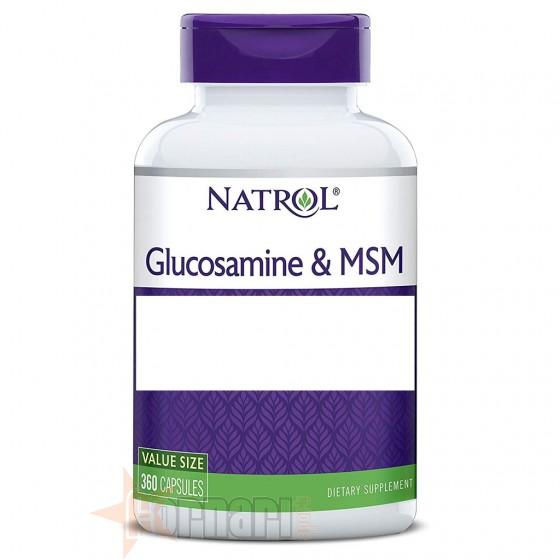 Natrol Glucosamine & Msm 360 cps