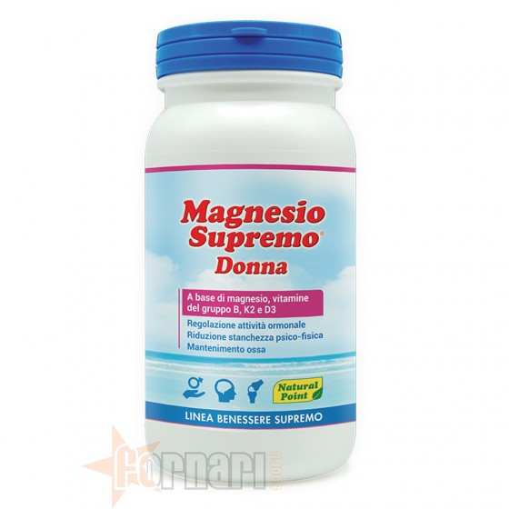 Natural Point Magnesio Supremo Donna 150 gr