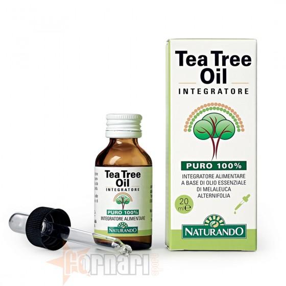 Naturando Tea Tree Oil Integratore 20 ml
