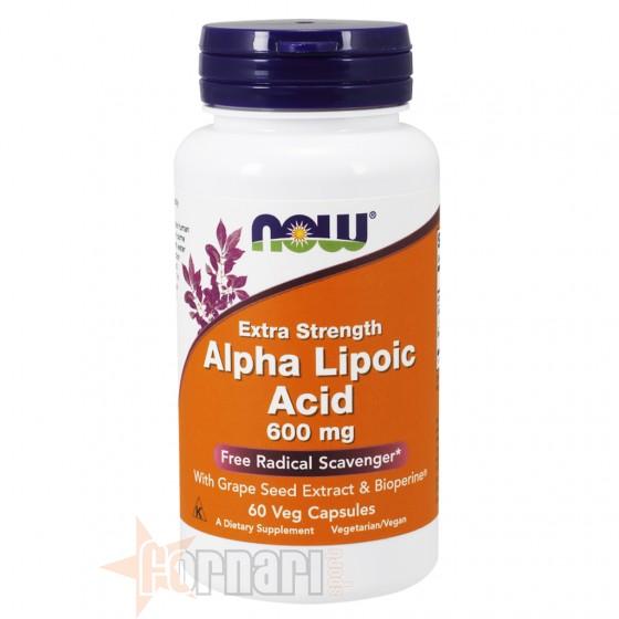 Now Foods Alpha Lipoic Acid 60 cps