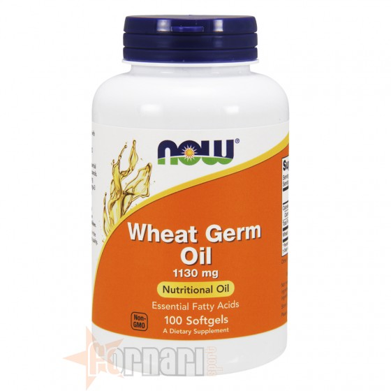 Now Foods Wheat Germ Oil 100 Perle