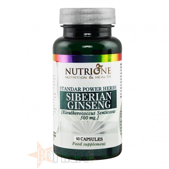Nutrione Siberian Ginseng 60 cps