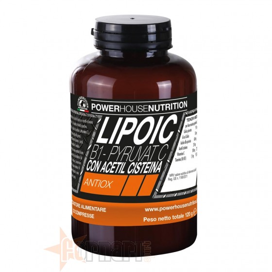 Power House Lipoic B1 Pyruvat C