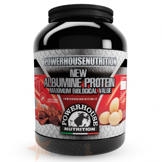 Power House Nutrition New Albumine Protein Proteine dell'Uovo
