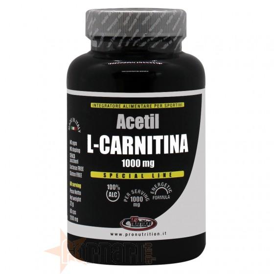Pro Nutrition Acetil L-Carnitina 60 cps