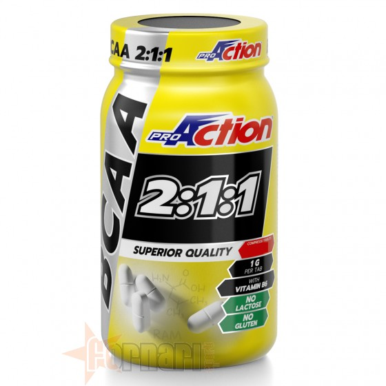 Proaction Bcaa 2:1:1 130 cpr