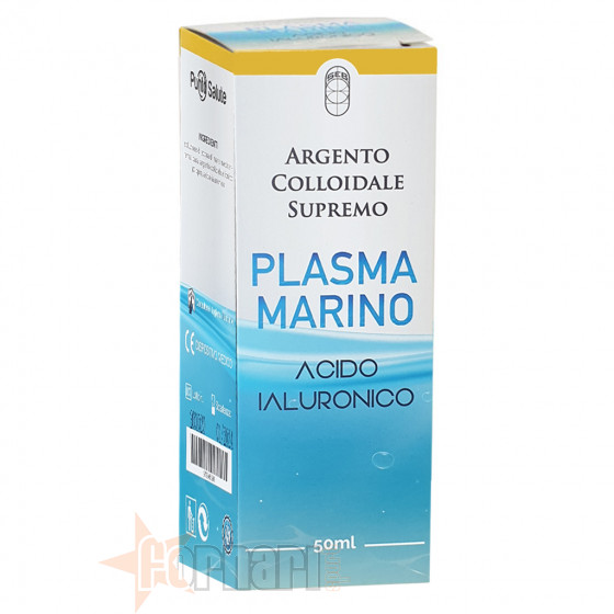 Punto Salute Argento Colloidale Supremo Plasma Marino Acido Ialuronico 50 ml