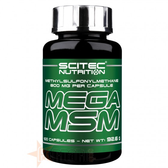 Scitec Mega Msm 100 cps