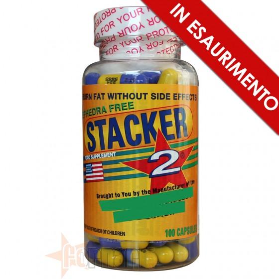 Stacker 2 Termogenici con Caffeina