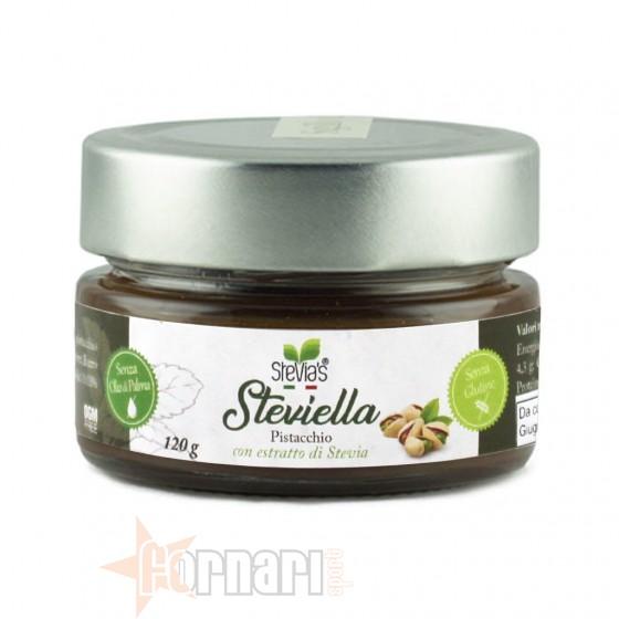Stevia's Steviella al Pistacchio 120 gr