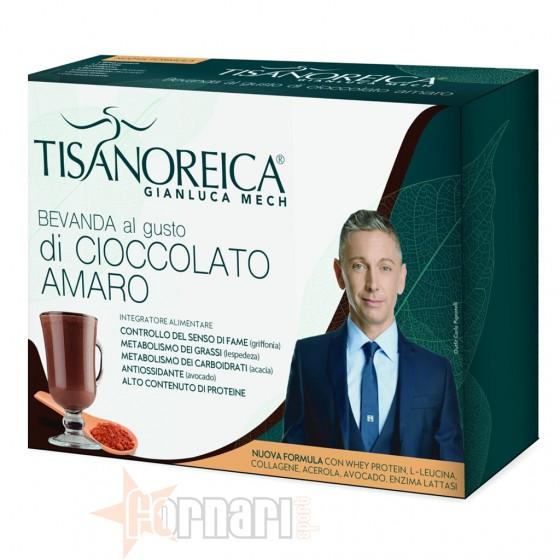 Tisanoreica Bevanda al Cioccolato Amaro 4 Buste