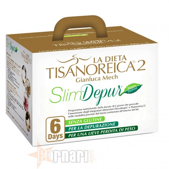 Tisanoreica Cofanetto 6 Days Slim Depur