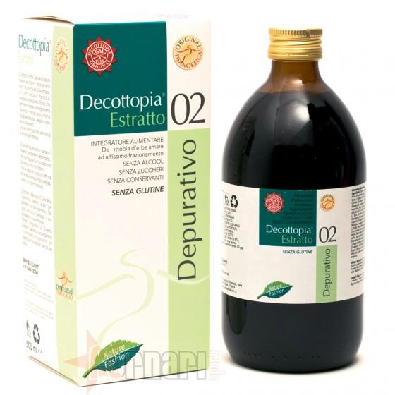 Tisanoreica Estratto 02 Depurativo con Spirulina 500 ml