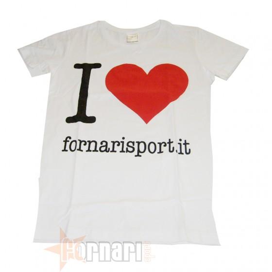 Area Fitness T-Shirt Fornari Sport Accessori Allenamento