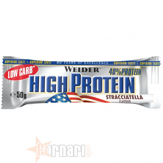 Weider Low Carb High Protein Bar 50 gr