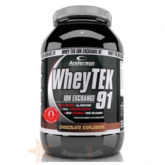 Anderson Whey Tek Gluten Free Proteine del Latte Senza Glutine