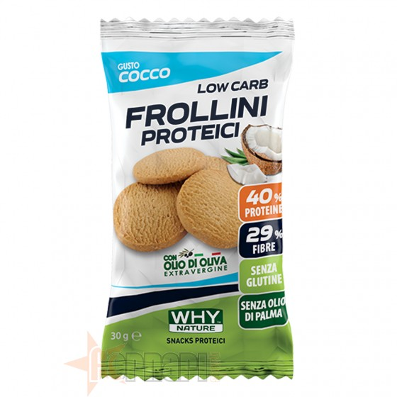 Why Nature Frollini Proteici 30 gr