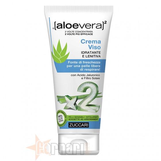 Zuccari Aloe Crema Viso Idratante e Lenitiva 50 ml