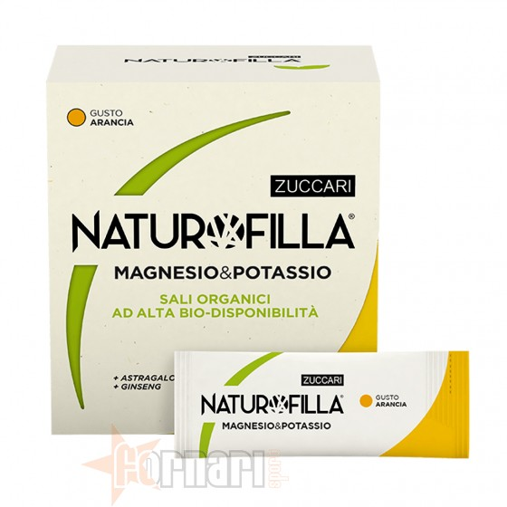 Zuccari Naturofilla Magnesio & Potassio 14 Stick