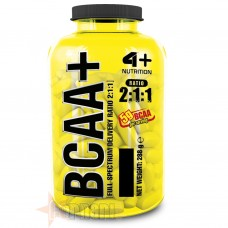 4 PLUS BCAA+ 250 CPR