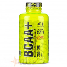 4+ NUTRITION BCAA+ 250 CPR