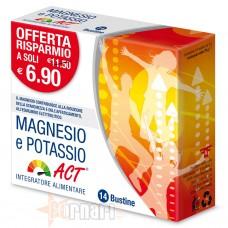 ACT - F&F MAGNESIO E POTASSIO ACT 14 BUSTINE