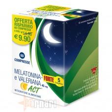 ACT - F&F MELATONINA + FORTE 5 COMPLEX E VALERIANA ACT 60 CPR