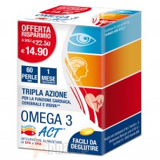ACT - F&F OMEGA 3 ACT 60 PERLE