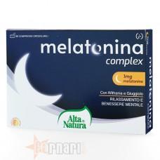ALTA NATURA MELATONINA COMPLEX 30 CPR