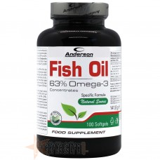 ANDERSON FISH OIL 100 SOFTGELS